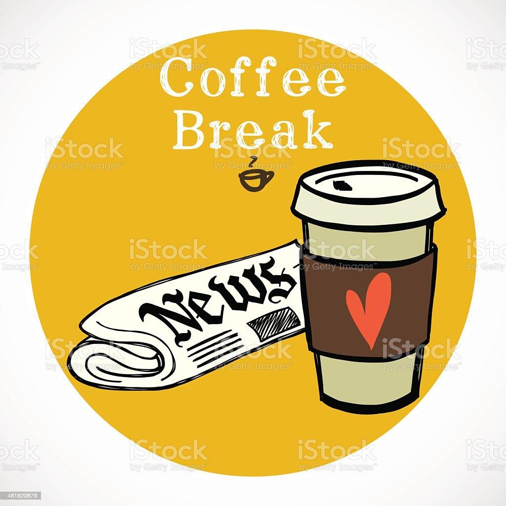 Coffee. vector art illustration