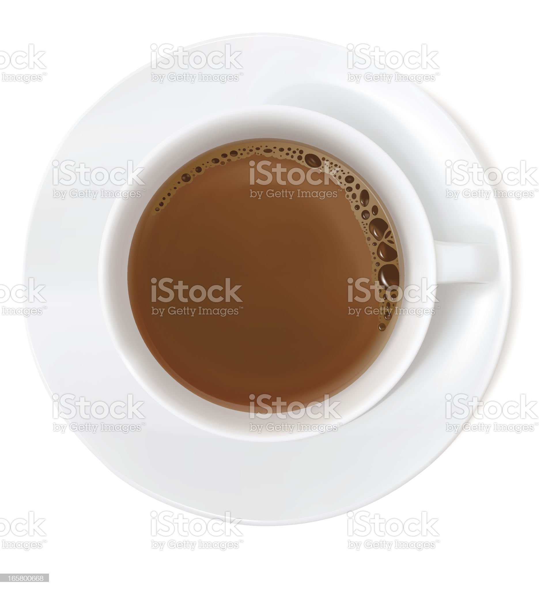 Coffee - Vector Illustration royalty-free stock vector art