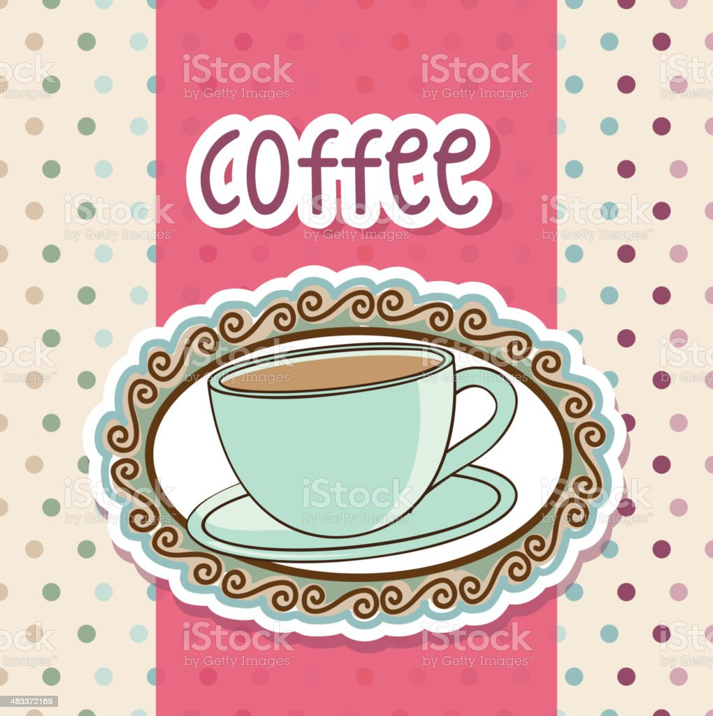 coffee vector royalty-free stock vector art