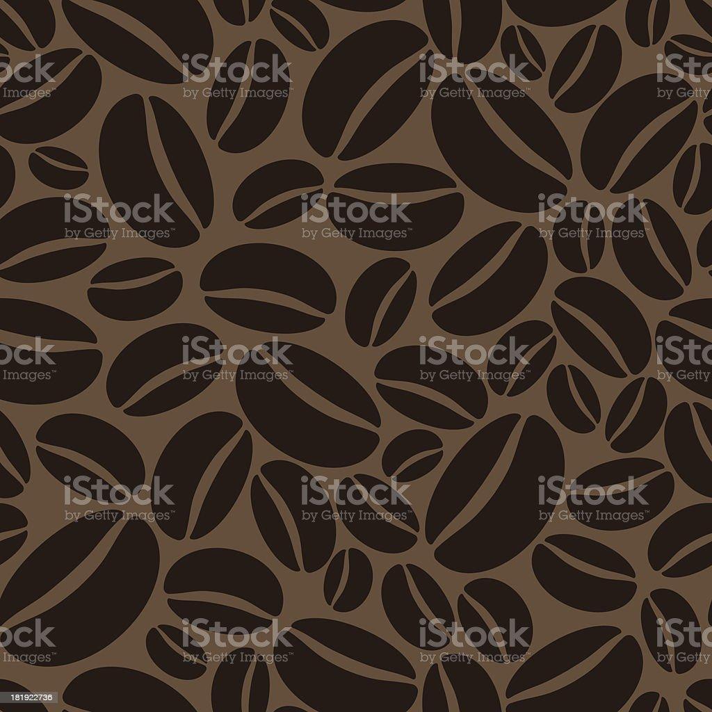 Coffee Wallpaper Pattern vector art illustration