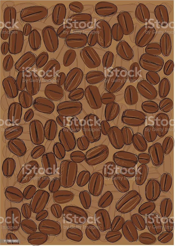 coffeebeans royalty-free stock vector art
