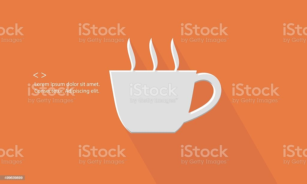 Coffee,Blank for text royalty-free stock vector art