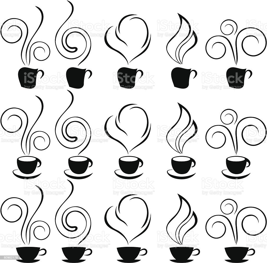 coffee-cup vector art illustration