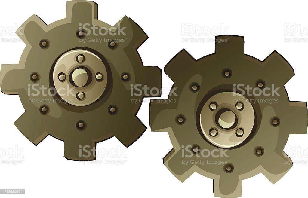 Cogwheel royalty-free stock vector art