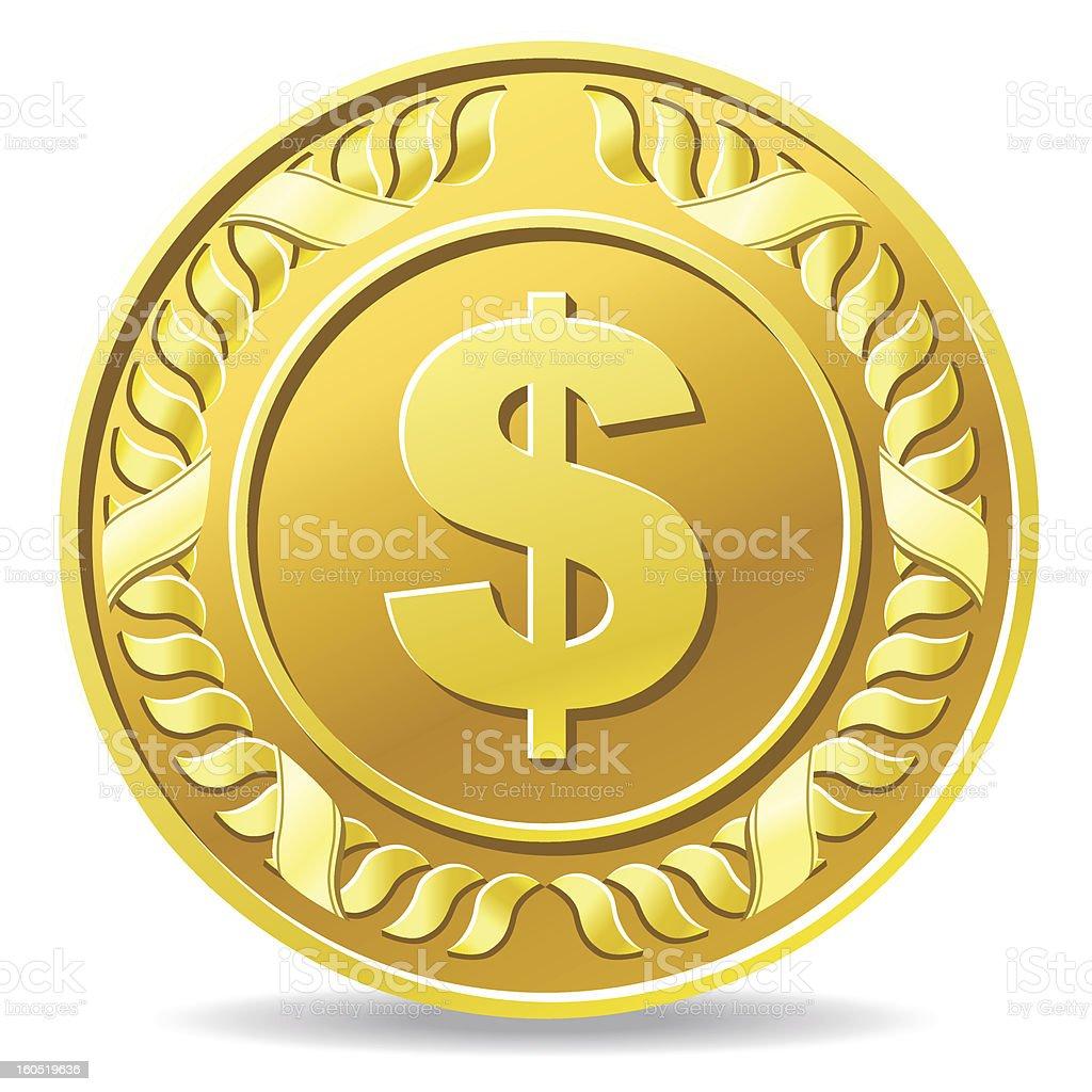 coin royalty-free stock vector art