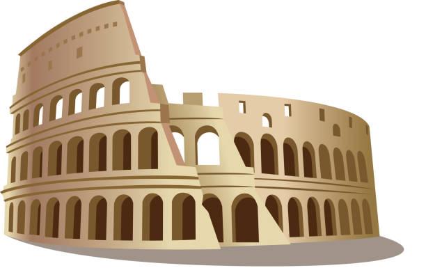 Coliseum Clip Art, Vector Images & Illustrations - iStock