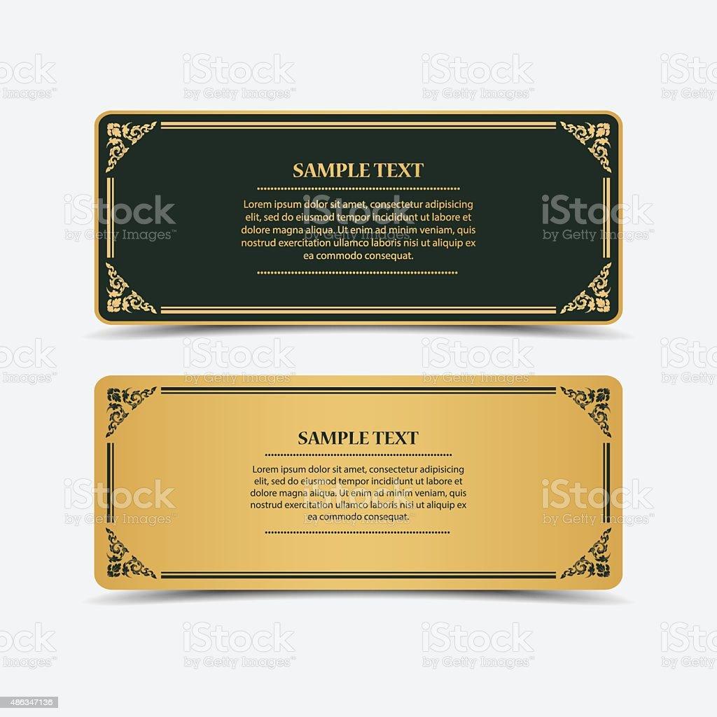 Collection banner design.vector vector art illustration