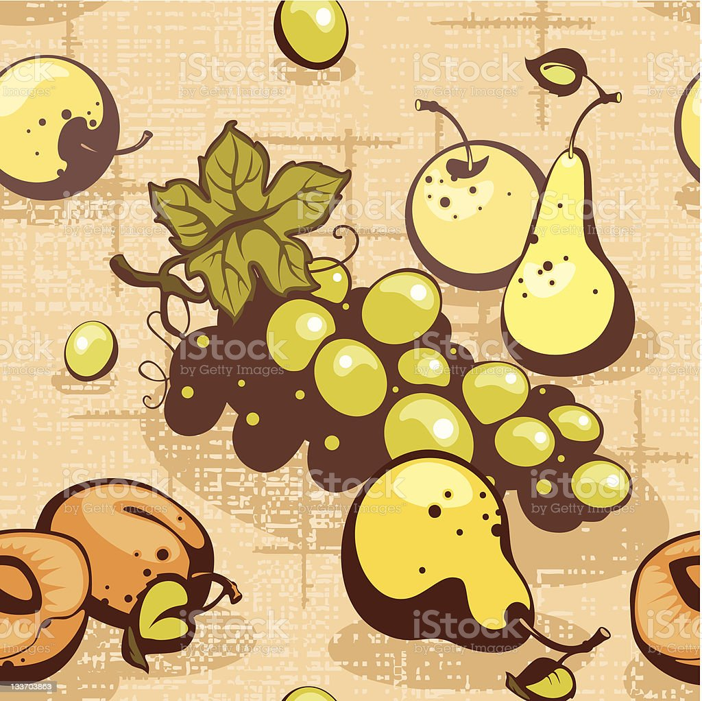 collection fruits royalty-free stock vector art