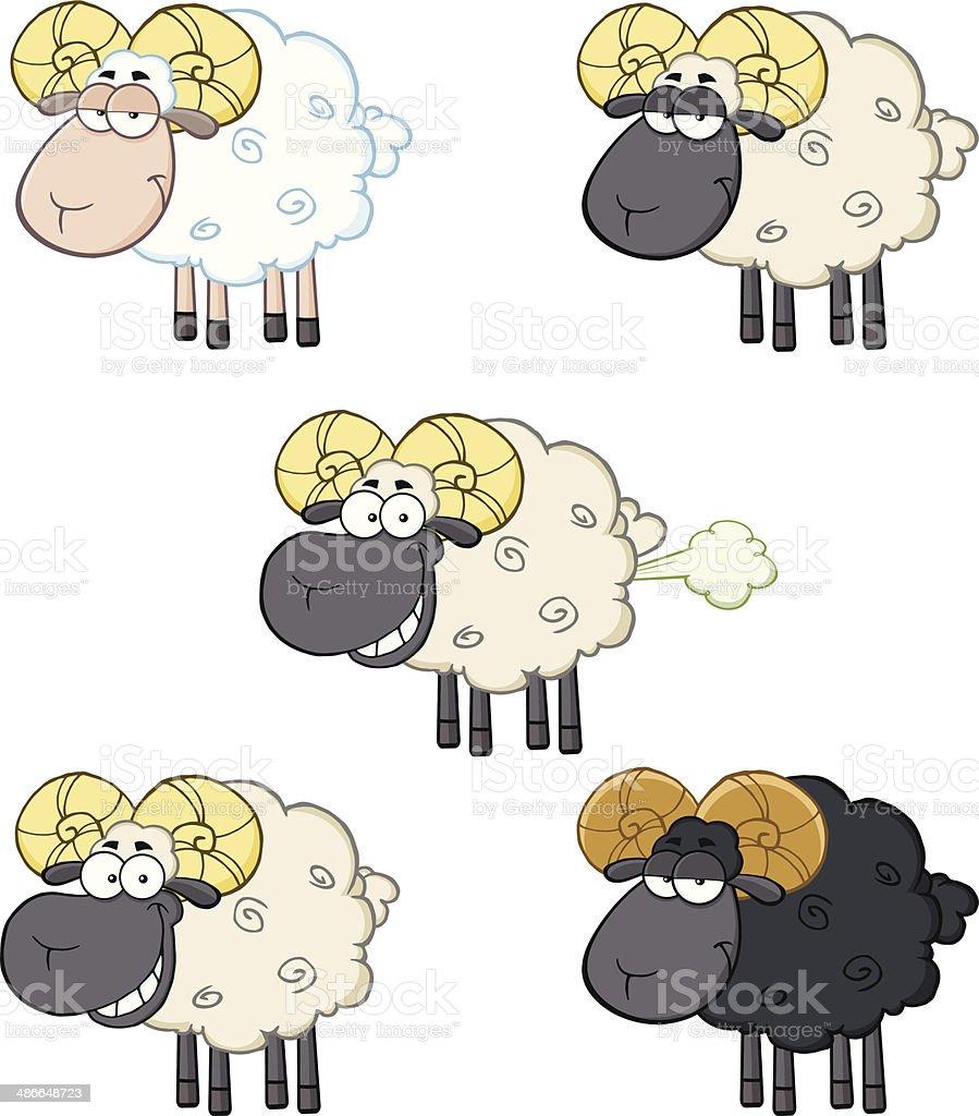 コレクションのおもしろい sheeps 3 のイラスト素材 486648723 | istock