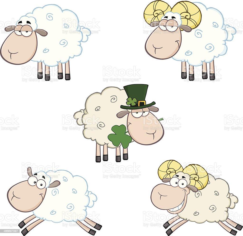 コレクションのおもしろい sheeps 9 のイラスト素材 486697397 | istock