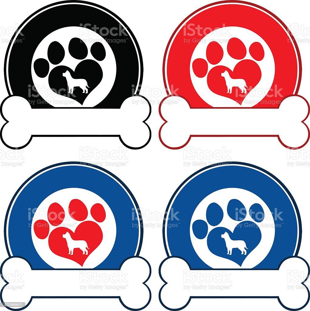 image logo patte de chien