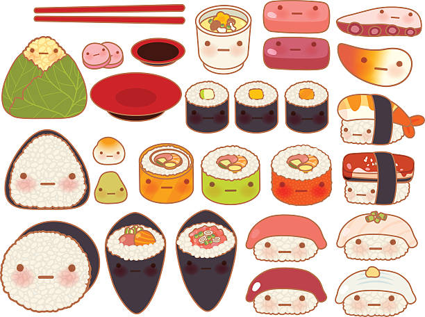 Japanese Food Clip Art, Vector Images & Illustrations - iStock