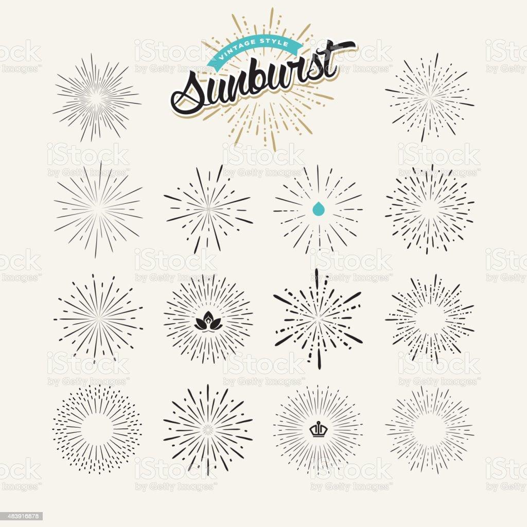 Colección de elementos de diseño de klein illustracion libre de derechos libre de derechos