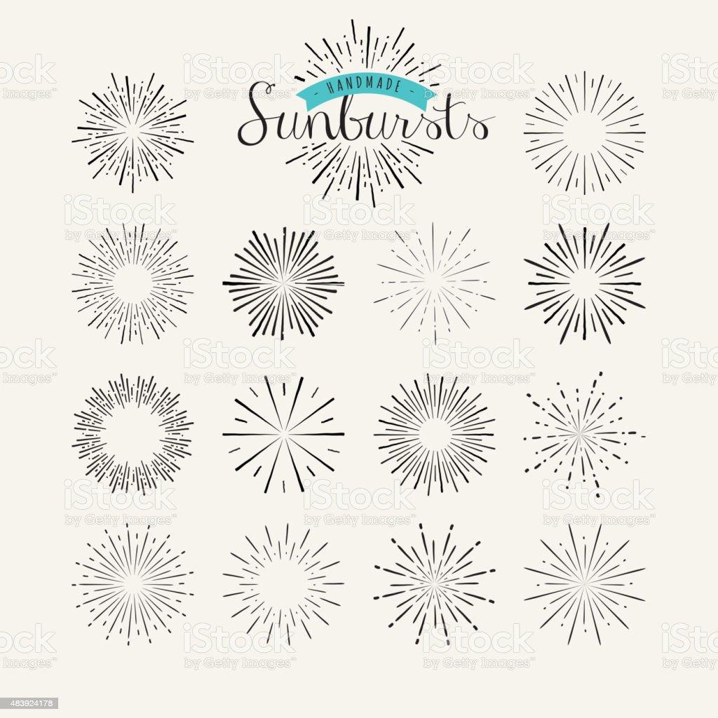 Colección de elementos de diseño vintage de klein illustracion libre de derechos libre de derechos