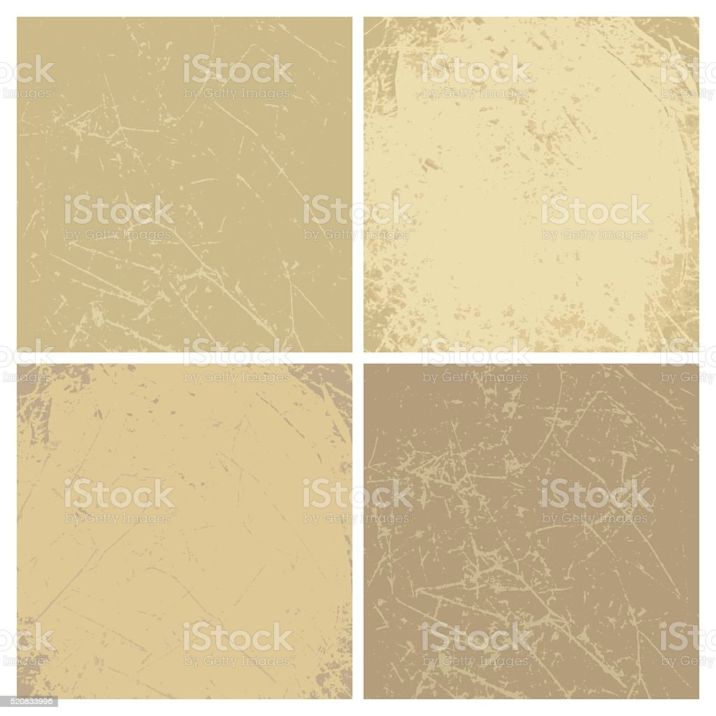 Collection of vintage vector backgrounds. vector art illustration