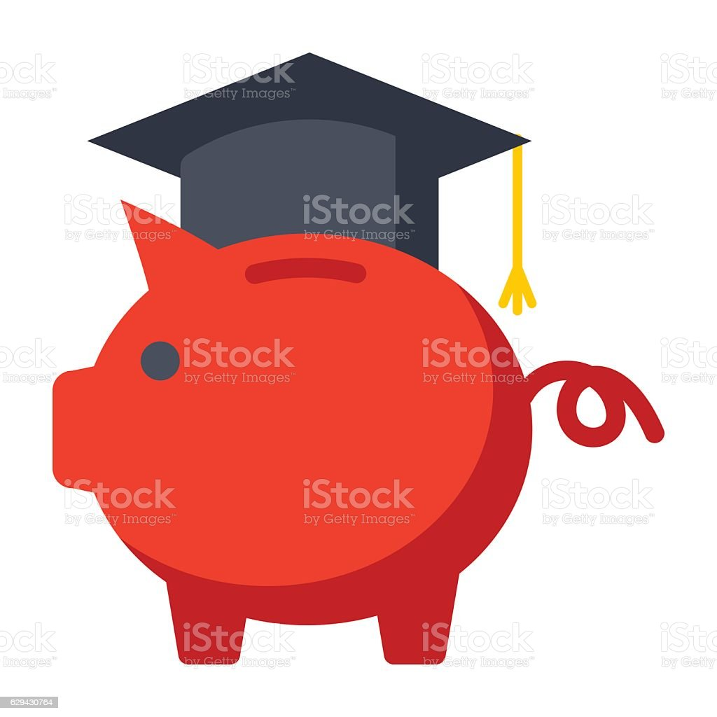 College Savings Plan vector art illustration