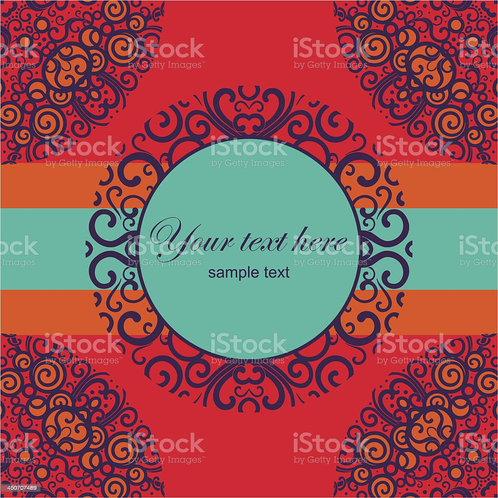 color card royalty-free stock vector art