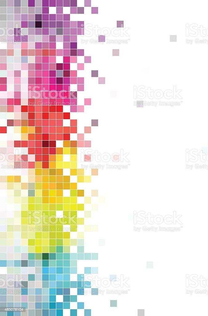 color check technology background vector art illustration