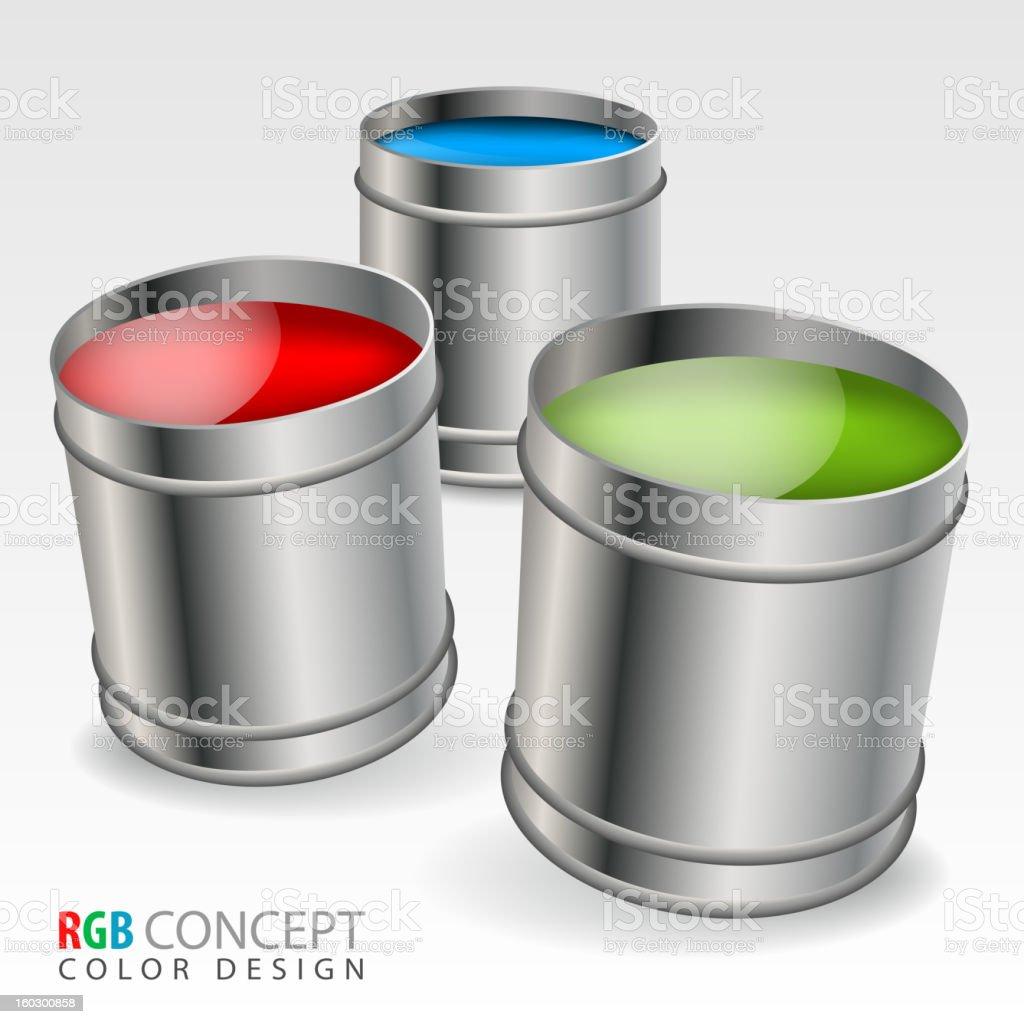 Color Concept royalty-free stock vector art
