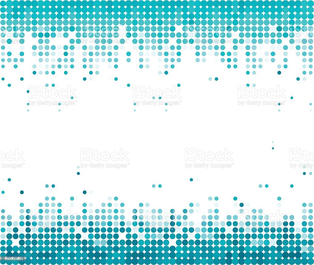 color dot technology background vector art illustration