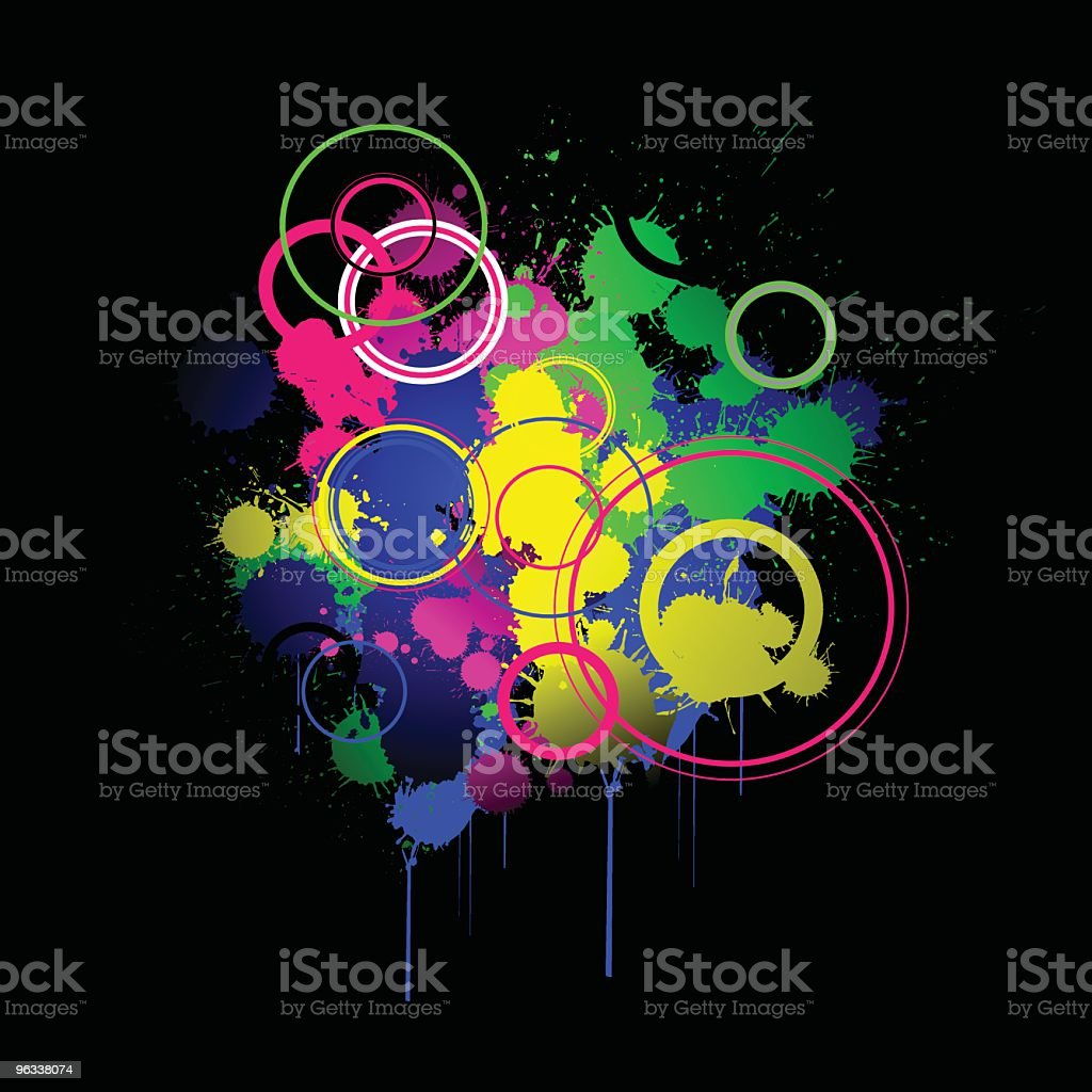 Color Explosion royalty-free stock vector art
