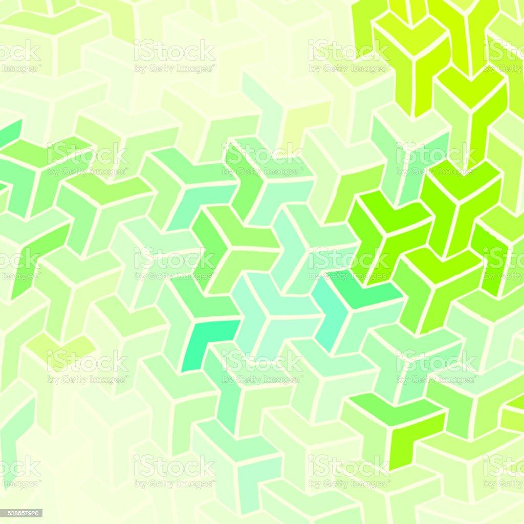 幾何学パターンの背景色 のイラスト素材 538657920 | istock