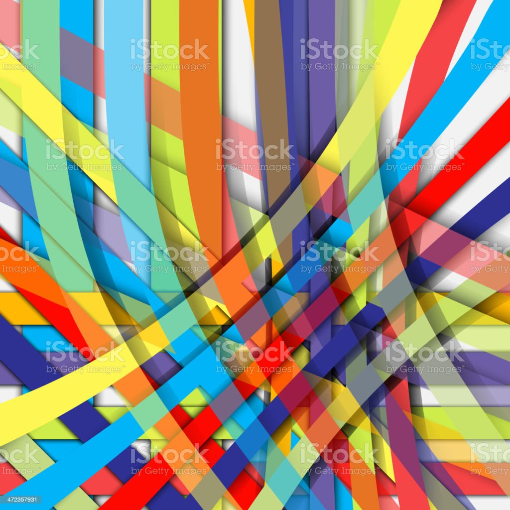 color line background royalty-free stock vector art