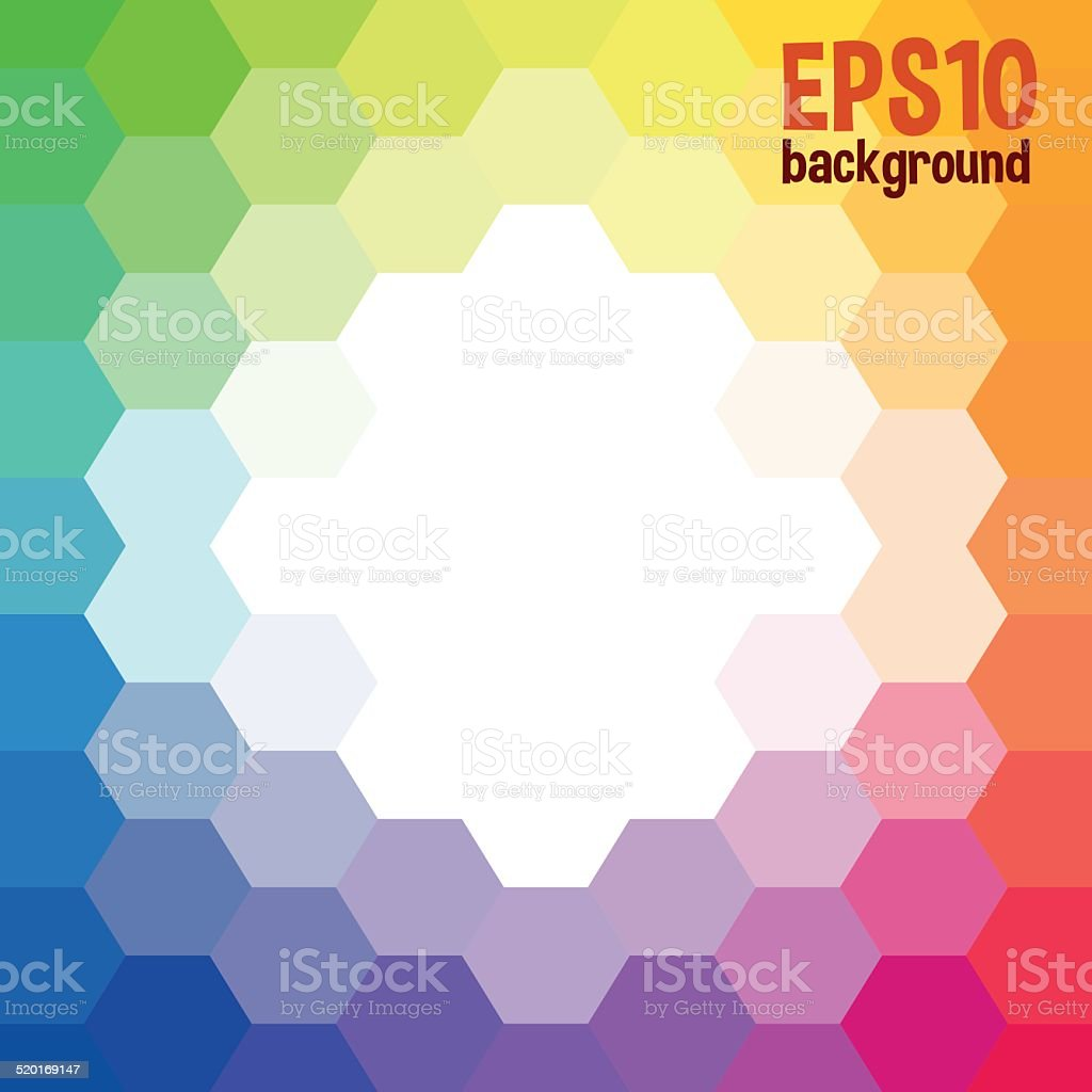 Color palette background royalty-free stock vector art