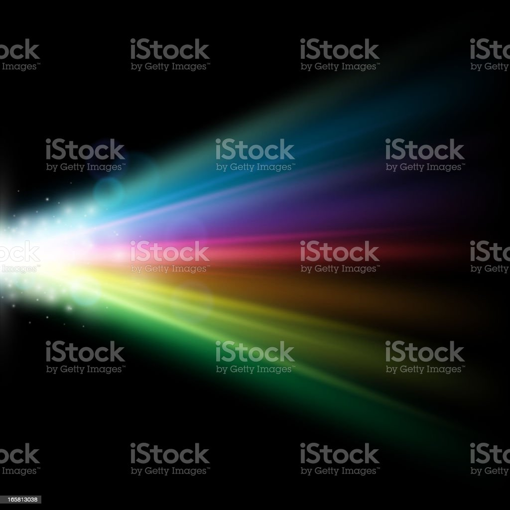 Color Spectrum vector vector art illustration