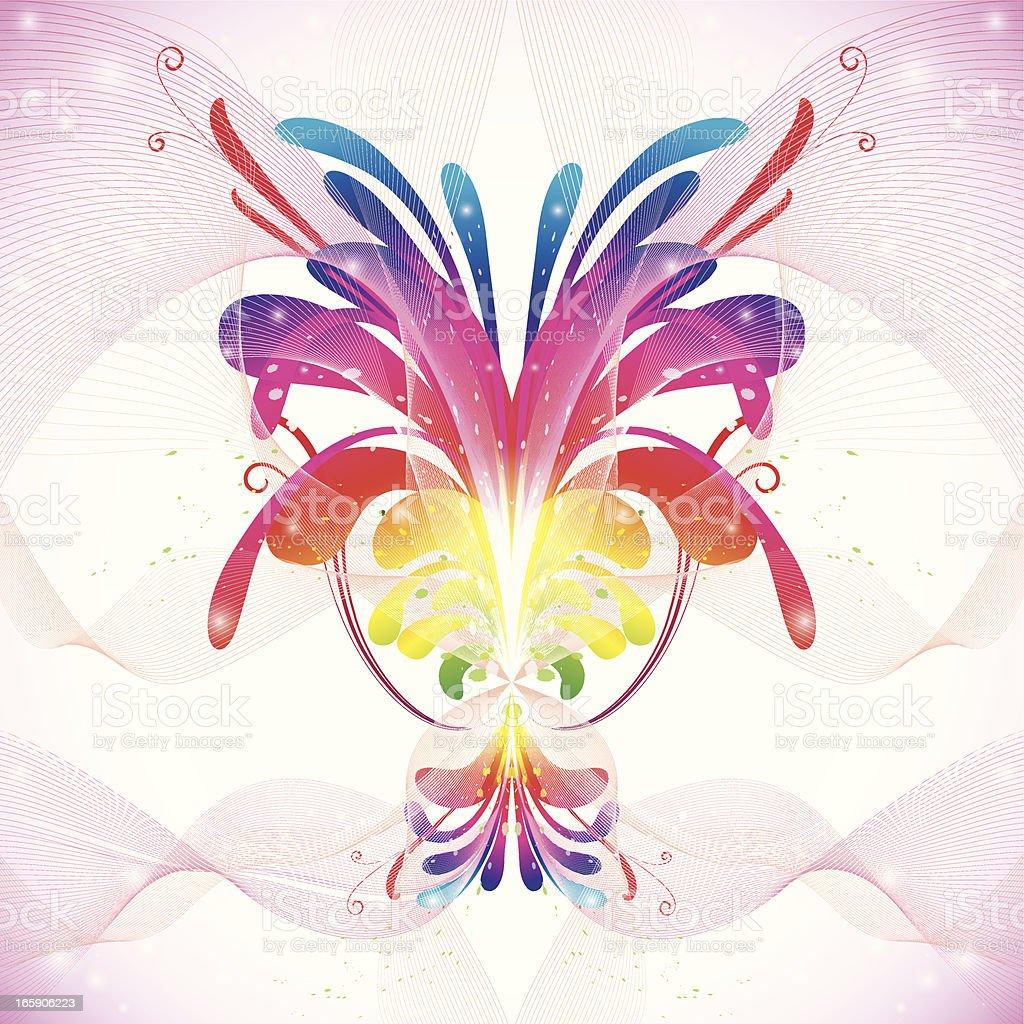 color splash royalty-free stock vector art