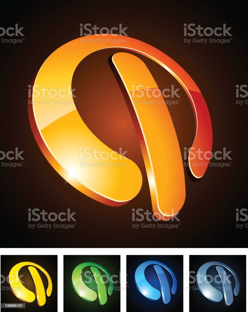Color vibrant signs. royalty-free stock vector art
