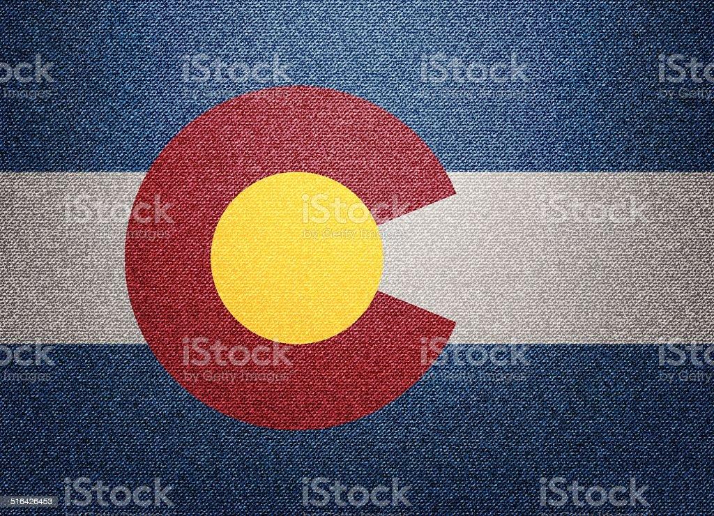 Colorado flag vector art illustration