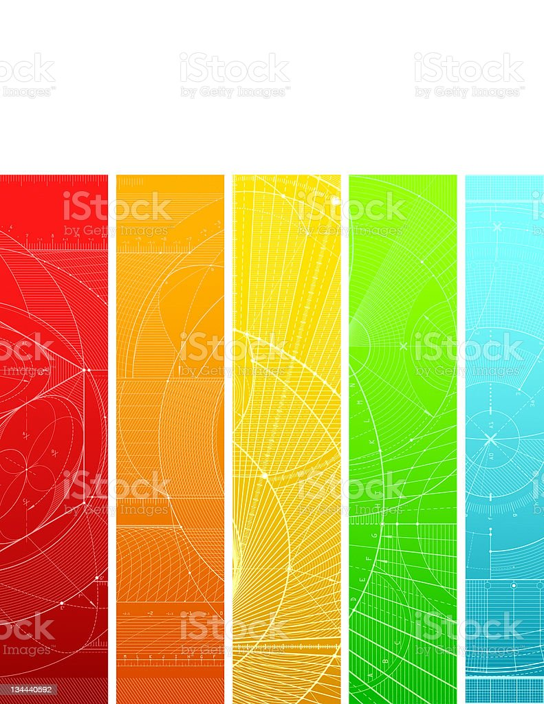 colordraft pattern royalty-free stock vector art