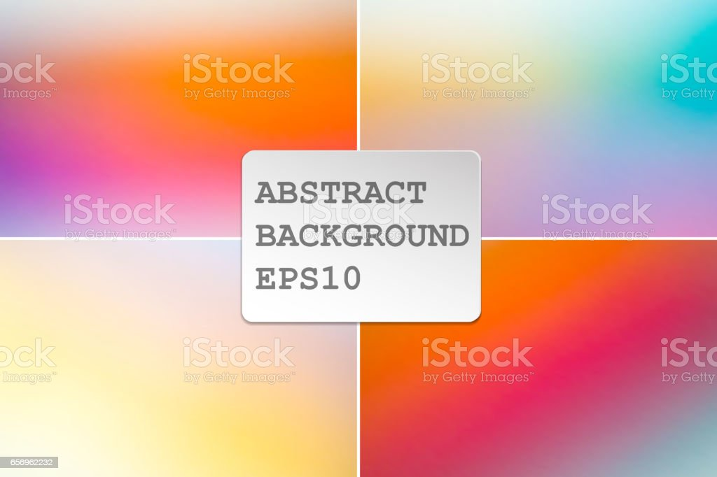 colored abstract background vector art illustration