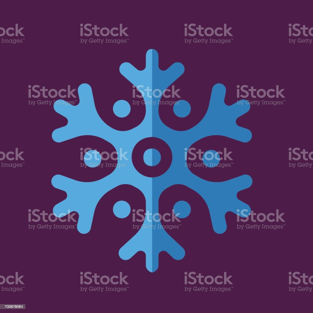 Colored Abstract Geometric Snowflake Stock Vector Art 700876064 Istock