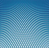 Colored Wavy Grid Halftone Pattern Background