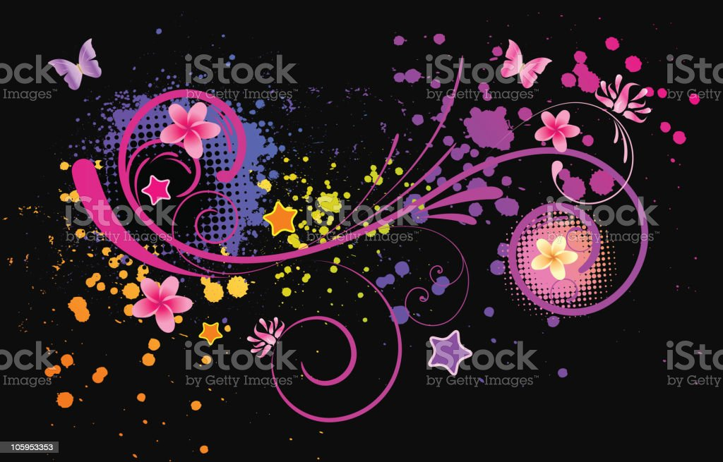 Colorful abstract background royalty-free stock vector art