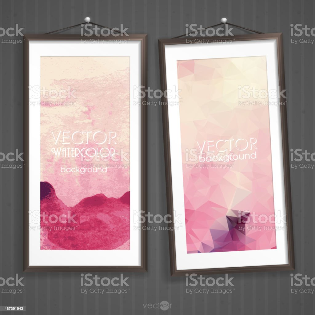 Colorful Abstract Banner royalty-free stock vector art