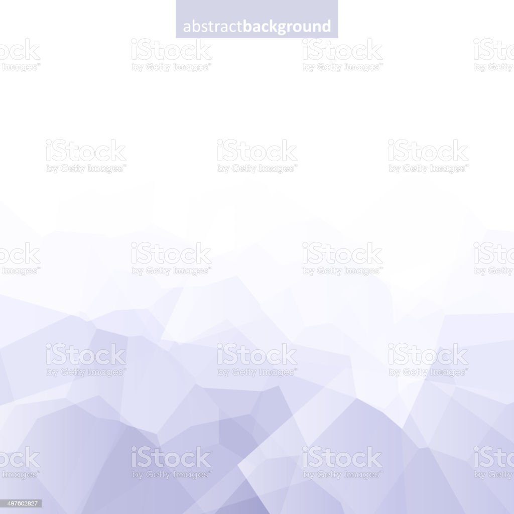 Colorful abstract crystal background. Ice or jewel structure. Gray color. vector art illustration