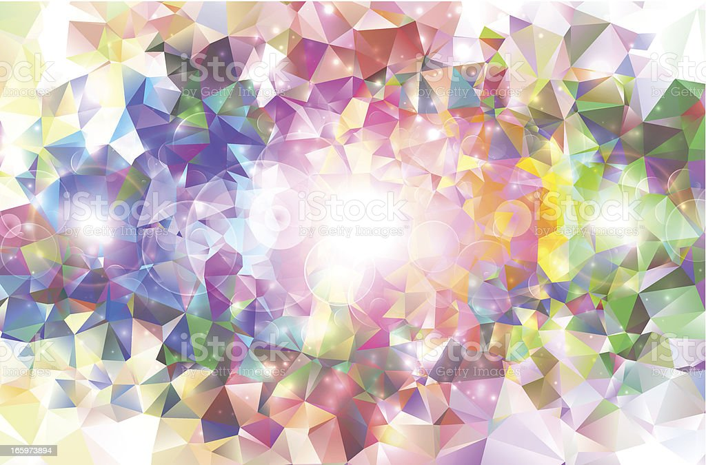 Colorful abstract mosaic. vector art illustration