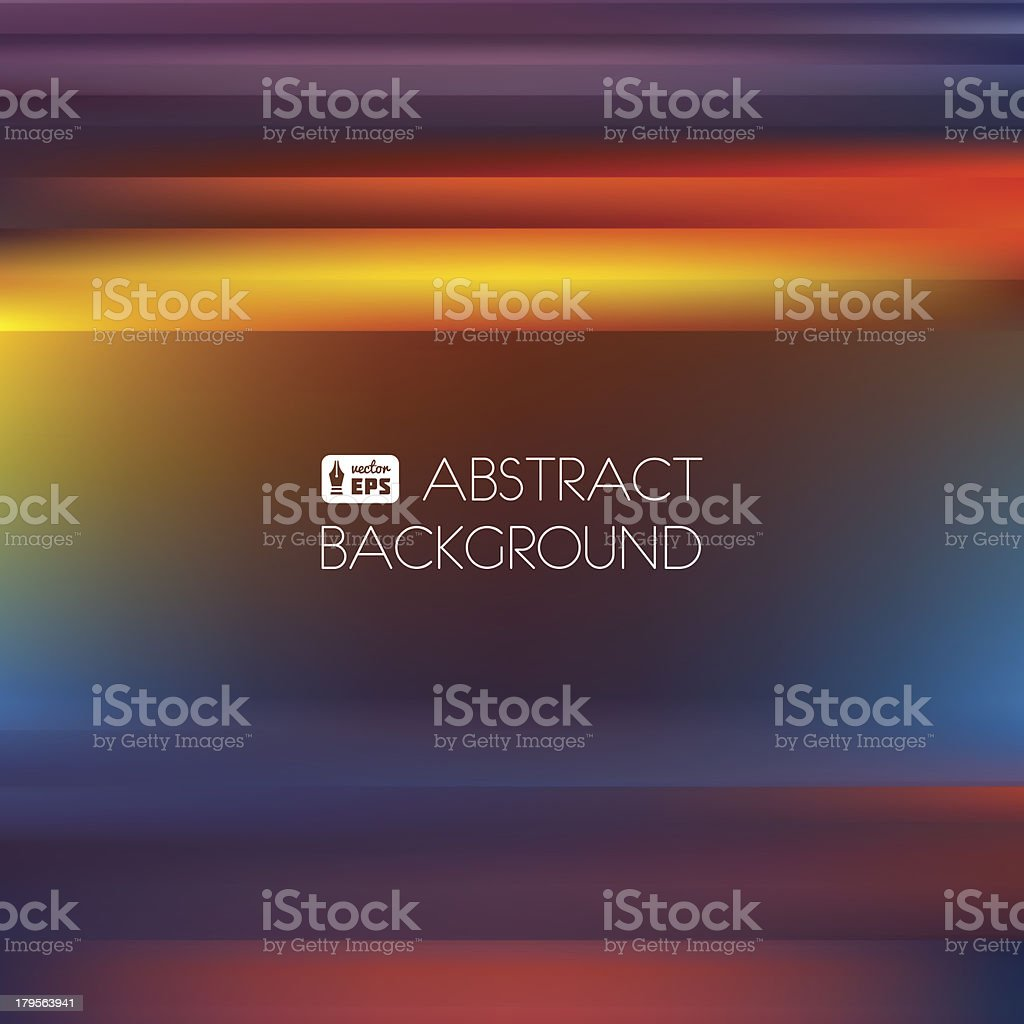 Colorful Abstract Striped Background. vector art illustration