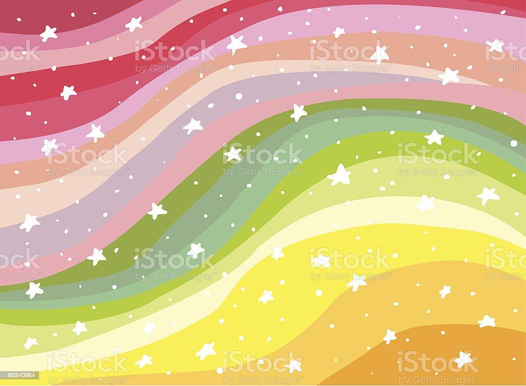 Colorful Background Rainbow illustration vector art illustration