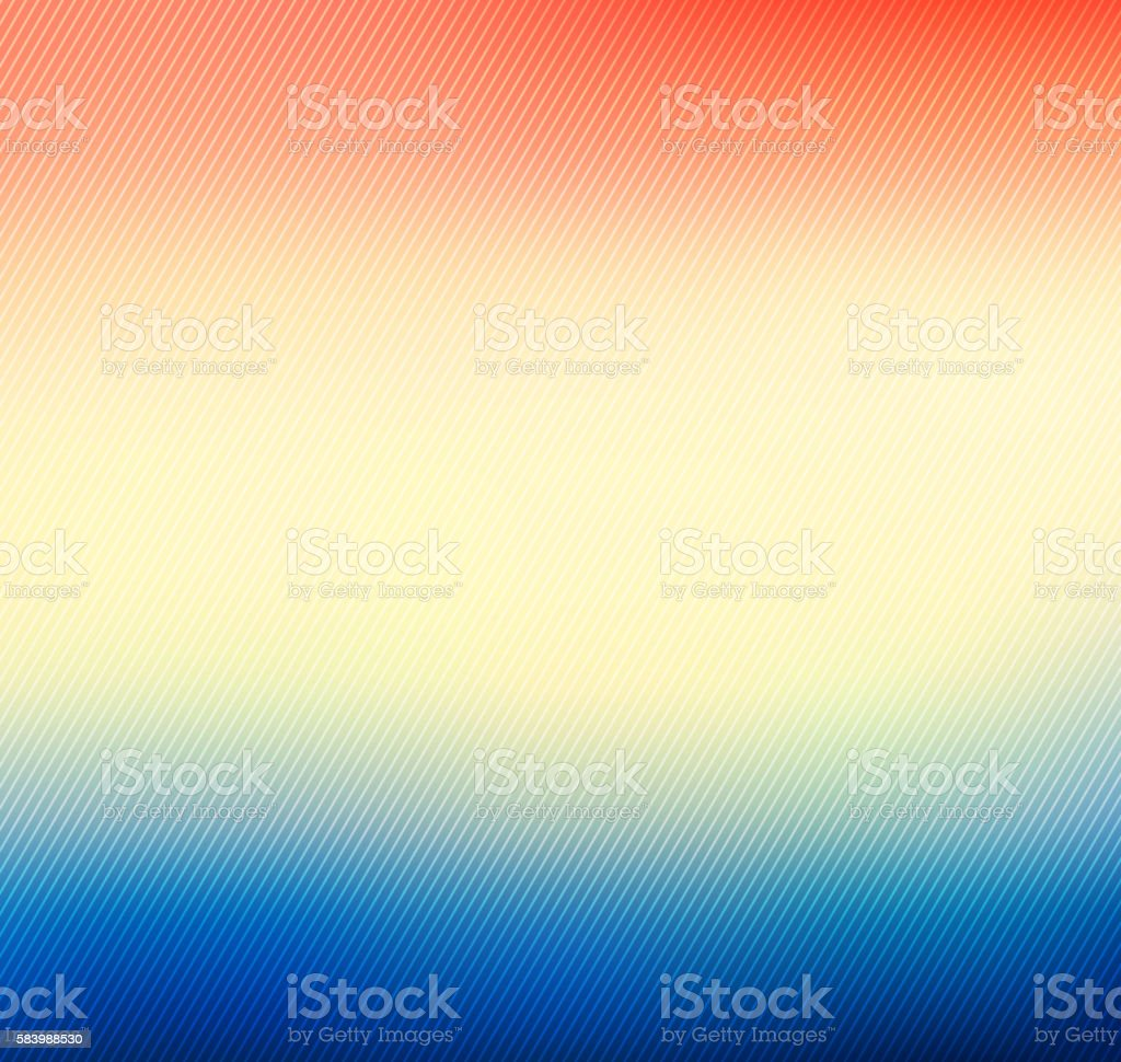 Colorful blurred vector background with lines vector art illustration