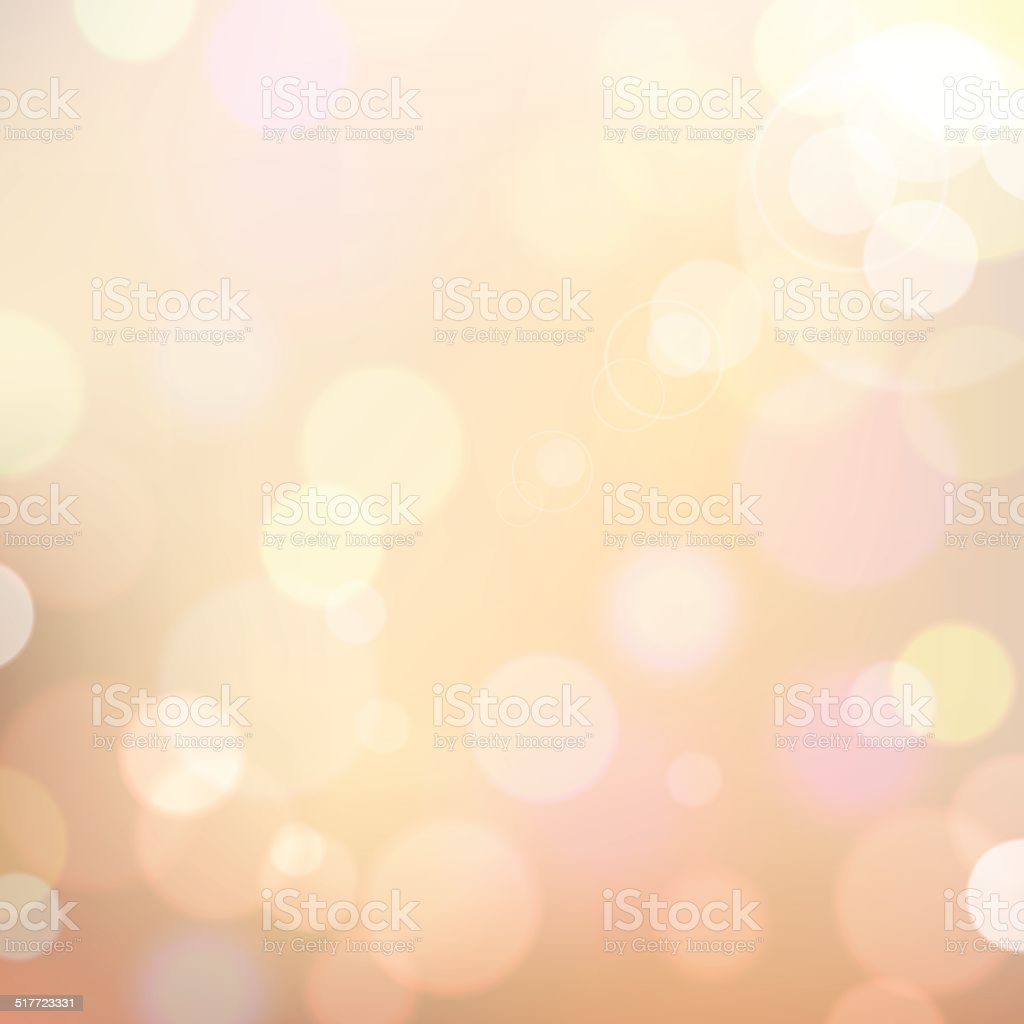Colorful Bokeh Background vector art illustration