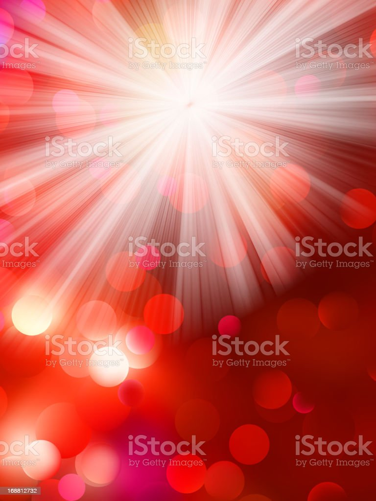 Colorful bokeh light background. EPS 10 royalty-free stock vector art