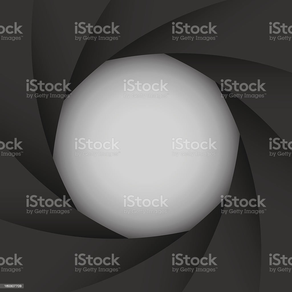 Colorful camera shutter background,Illustration royalty-free stock vector art
