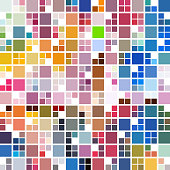 colorful check pattern background