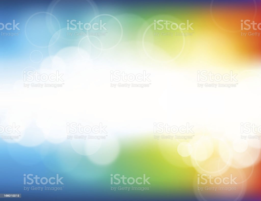 A colorful defocus and blurry background royalty-free stock vector art