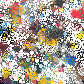 colorful dots pattern background