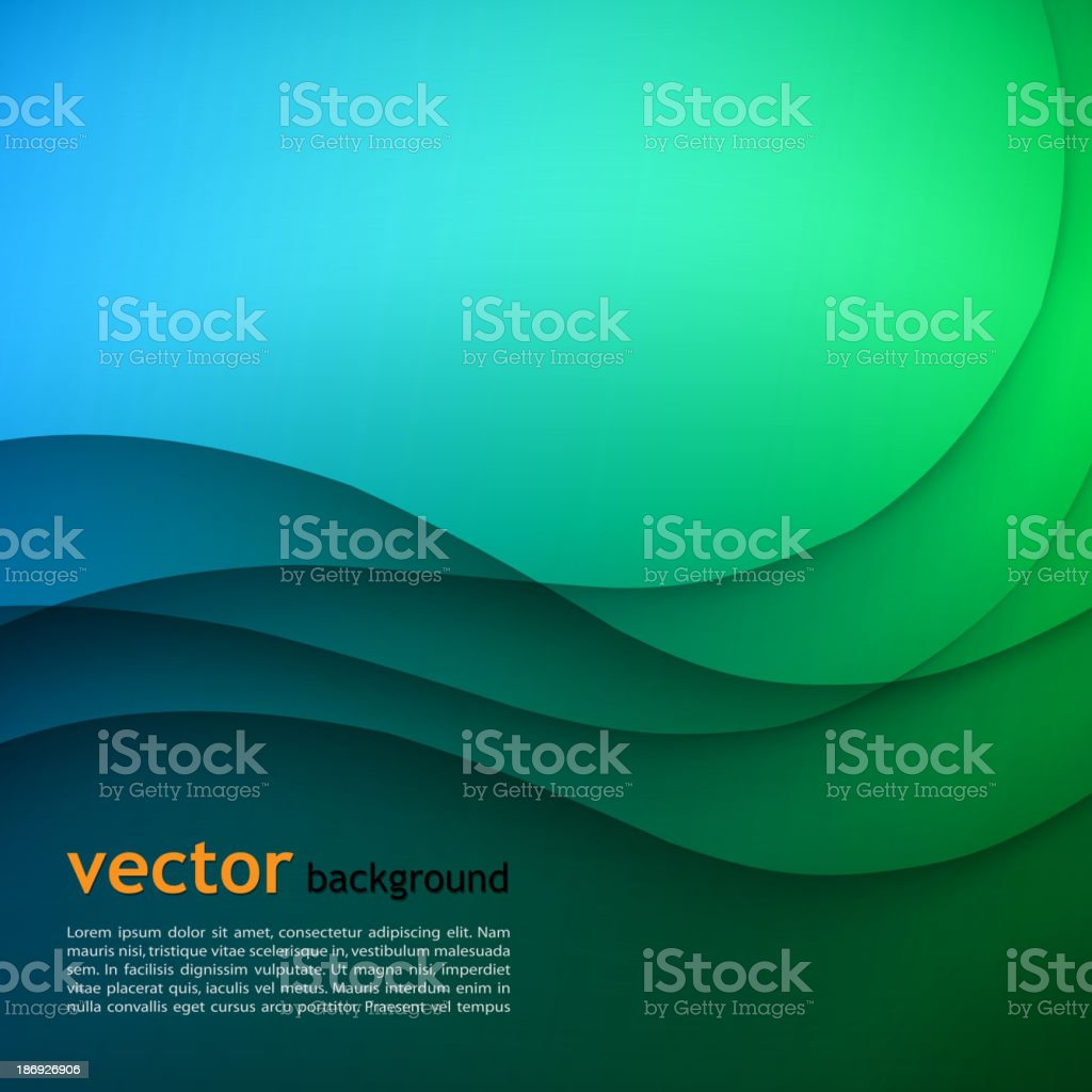 Colorful elegant business background. royalty-free stock vector art